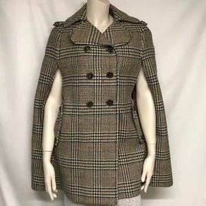 Jackets & Blazers - VINTAGE houndstooth cape